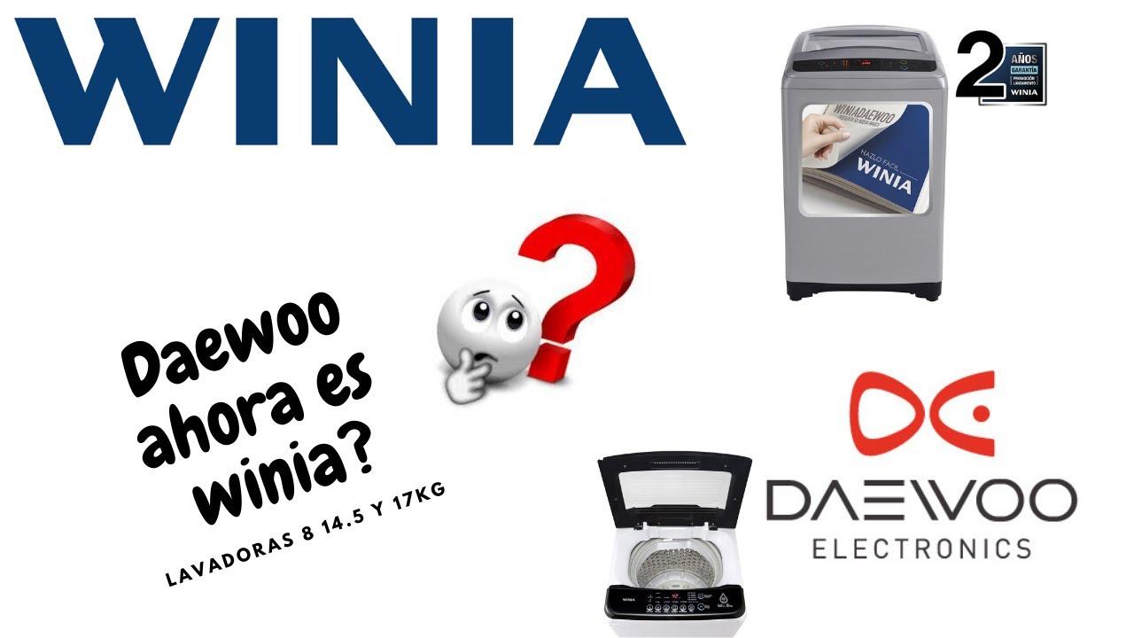 Download Daewoo cambia de nombre a Winia Sera igual la Calidad? Lavadora Winia 8kg 14.5kg y 17kg