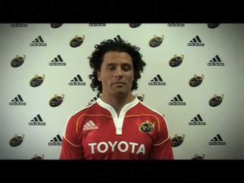 Adidas Munster Jersey Launch - Behind the Scenes