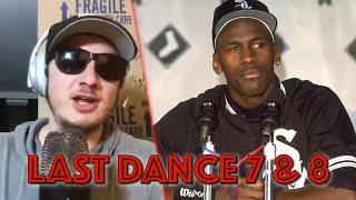 PMT React to The Last Dance 7 & 8: Michael Jordan is a Misunderstood Tyrant
