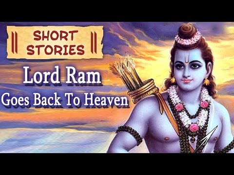 Lord Ram Goes Back To Heaven - Hindu Mythological Stories