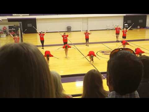 2-baton Twirling Routine to Lindsey  Stirling Something Wild ft. Andrew Mcmahon