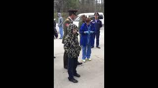 """Ожидание """"скорой"""" в Академгородке 9 мая"""