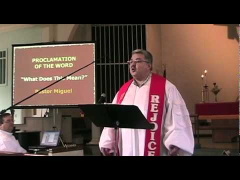 "Proclamation of the Word - ""What Does This Mean?"""