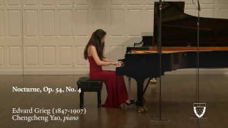 Grieg Nocturne, Op.54 No.4 - Chengcheng Yao