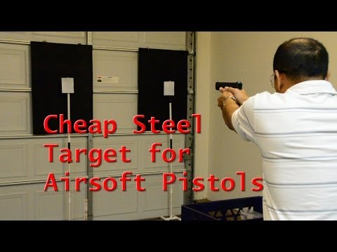 Cheap Steel Target for Airsoft