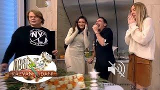 """Bubuituri în platoul de la Neatza! Răzvan: """"Dani, ești cel mai prost prieten al meu"""""""