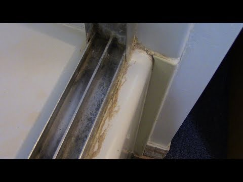 How to Clean Shower Door Frame & Tracks w/ Quick-Glo