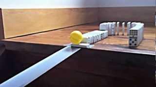 Cool Domino Track / Rube Goldberg Machine