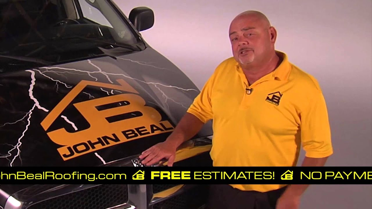 John Beal Roofing Commercial. BBB Roofer In St. Louis. Flat Or Shingles.    YouTube
