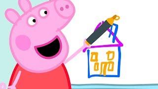 Peppa Pig Nederlands Compilatie Nieuwe Afleveringen | Bij Papa Op Kantoor | Tekenfilm | Peppa de Big