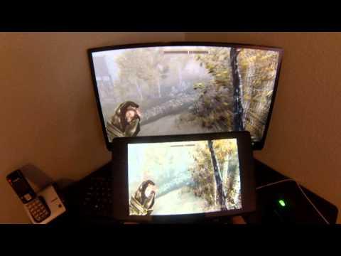 Streaming PC Games To Nexus 7 (2013) Tablet Using Moonlight
