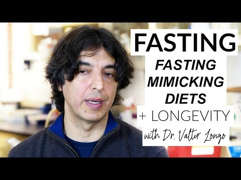 Dr. Valter Longo On Fasting, Ketogenesis + Low-Protein Diets FULL INTERVIEW