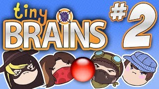 Tiny Brains: Ball Challenges! - PART 2 - Steam Rolled