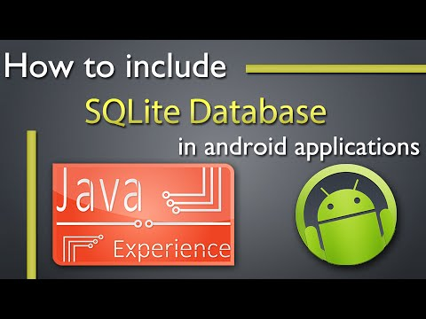 How To Include SQLite Database In Android Apps