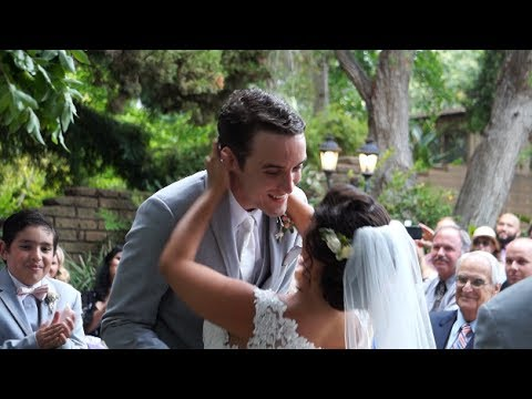 San Diego Botanic Garden Wedding Ceremony & Reception Highlight Trailer by Affordable Videographer