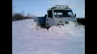 Уаз 3303 по снегу