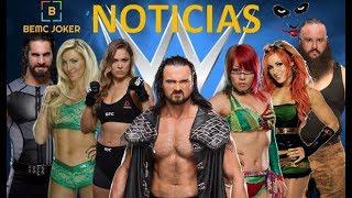 WWE Noticias / Cambio de Gerente General / CHARLOTTE vs RONDA ROUSEY / Drew McIntyre /