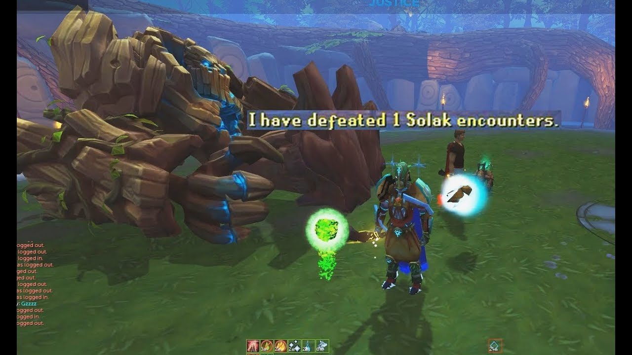 Duo Solak, Helping a mate get his first kill (Runescape)