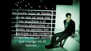 Alejndro Sanz- Se Vende (En Vivo y Con Letra)