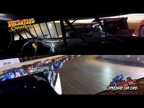 #002 Tyler Arrington - Crate Late Model - 9-7-19 Volunteer Speedway - In-Car Camera