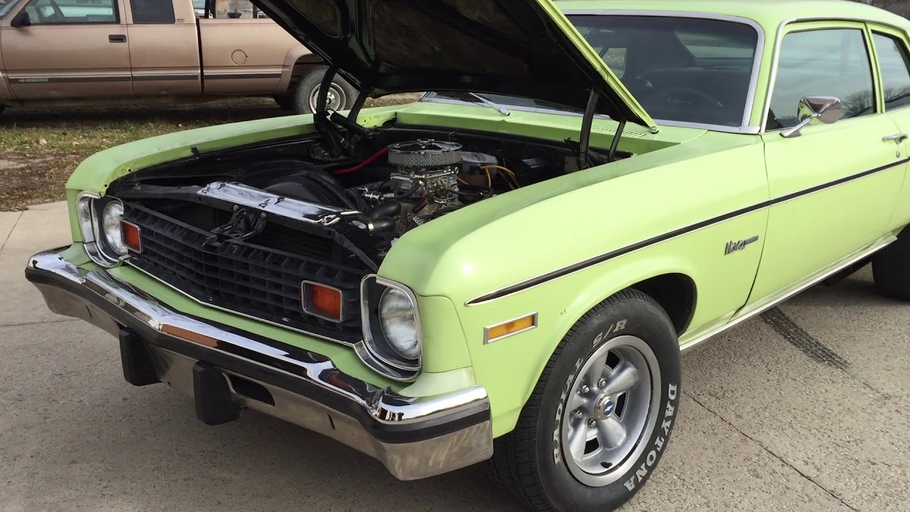 2-Door Nova for sale - UNRESTORED CAR | Iowa Used Cars - Barn Find ...