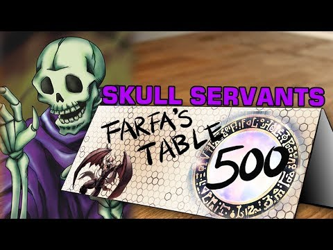"Table 500 #111 Skull Servants ""8,000 King of the Skull Servants attack directly, EZ Clap"""