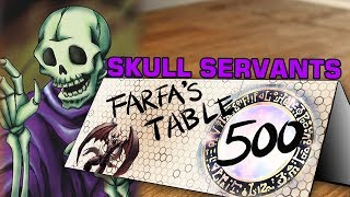 Table 500 111 Skull Servants 8000 King of the Skull Servants attack directly EZ Clap