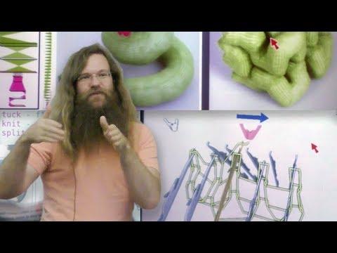 RI Seminar: James McCann : On-Demand Machine Knitting for Everyone
