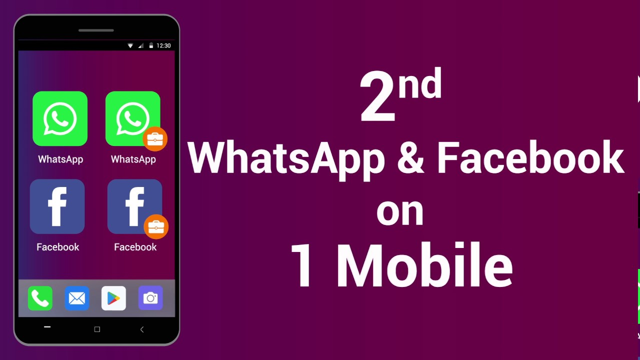 Best Clone Whatsapp And Facebook App For Android Youtube