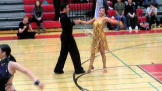 Jive at Yale Ballroom Dance Competition 2010