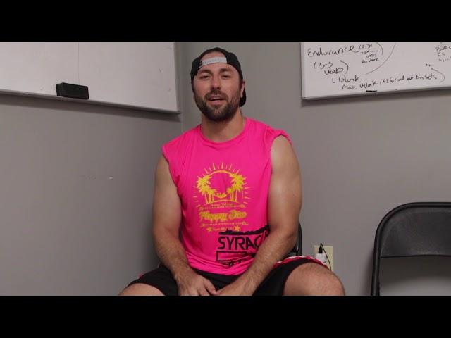 Athlete of the Week  Adam Burkholder