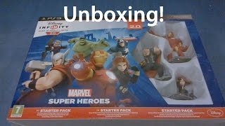 Disney Infinity 2.0 Marvel Super Heroes- PS3 Starter Pack | Unboxing