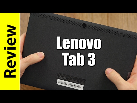 Lenovo Tab 3 10 (Plus/Business) Review