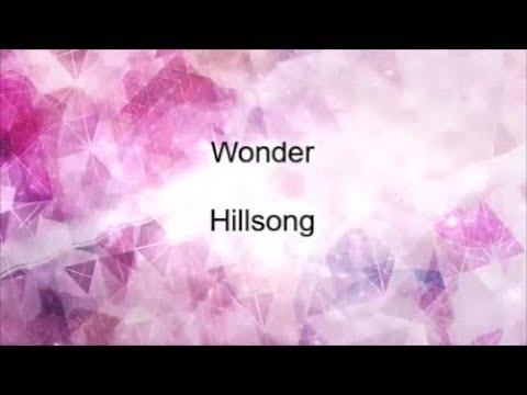 Wonder - Hillsong lyrics