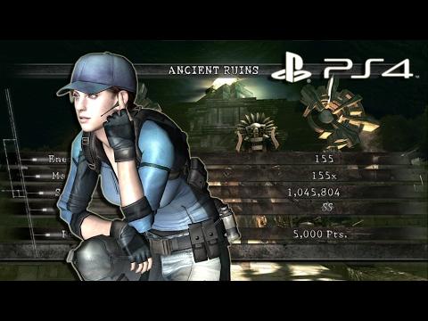 Ancient Ruins Solo 1,045,804 Jill BSAA | Resident Evil 5 PS4 Mercenaries United