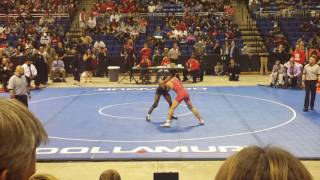 2017 texas state championship 145 lbs 5a