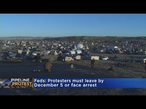 U.S. Army Corps Order DAPL Protesters Out By Dec. 5