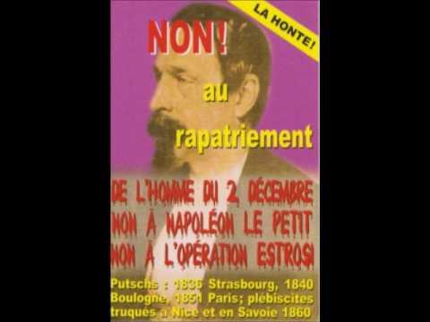 Estrosi vénère Napoléon le petit