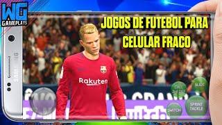 Top 10 Jogos De Futebol Para Celular Fraco - Todos Jogos Offline Na Descrição