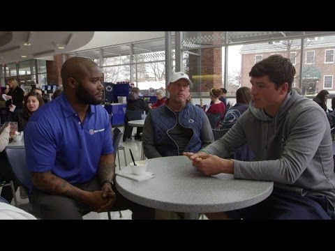 Michael Robinson & Christian Hackenberg Connect At Penn State | NFL