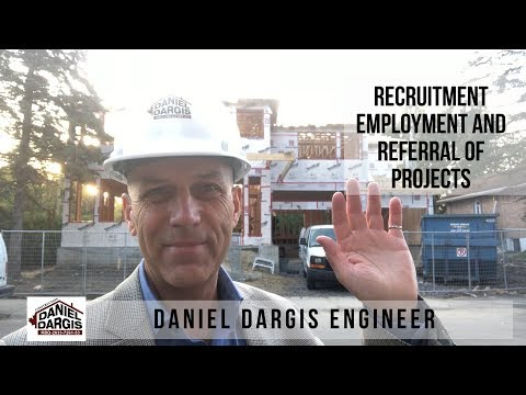 Recruitment, Employment and Referral of projects Montreal Quebec Canada - Daniel Dargis engineer