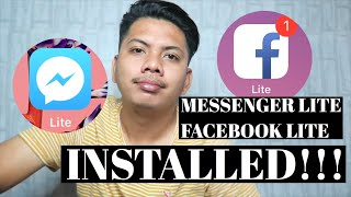 Gambar cover How to intall messenger/Fb lite on iphone