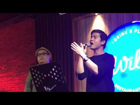 RINDU LIVE | AGNEZ MO MALE COVER | NoLo LIVE IN INDONESIA | NoLo x Riyan Pondaga Cover