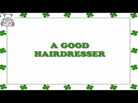 English short stories for beginner – Lesson 241 - A GOOD HAIRDRESSER ✫