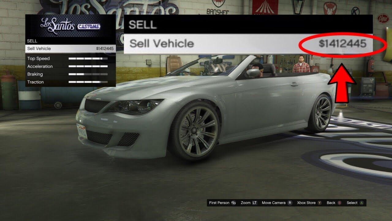 gta 5 online selling cars
