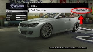 How To Sell Any Street Car For $900,000 In GTA 5 Online! (GTA 5 Online Money Glitch) 100% legit 1.43