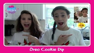 Oreo Cookie Dip With Simply Liv | In Mad's World