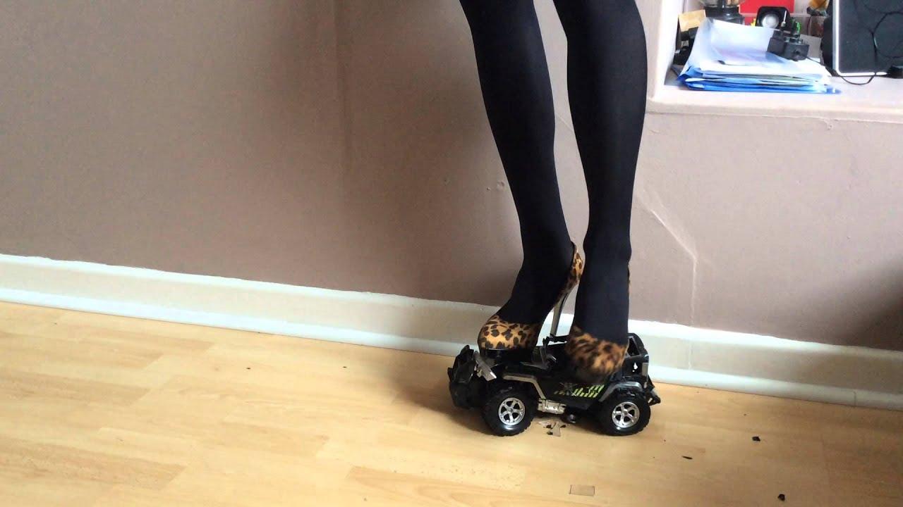 Crushing a toy car - 1 2