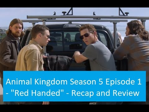 Download Animal Kingdom Season 5 Episode 1 Recap and Review: Red Handed