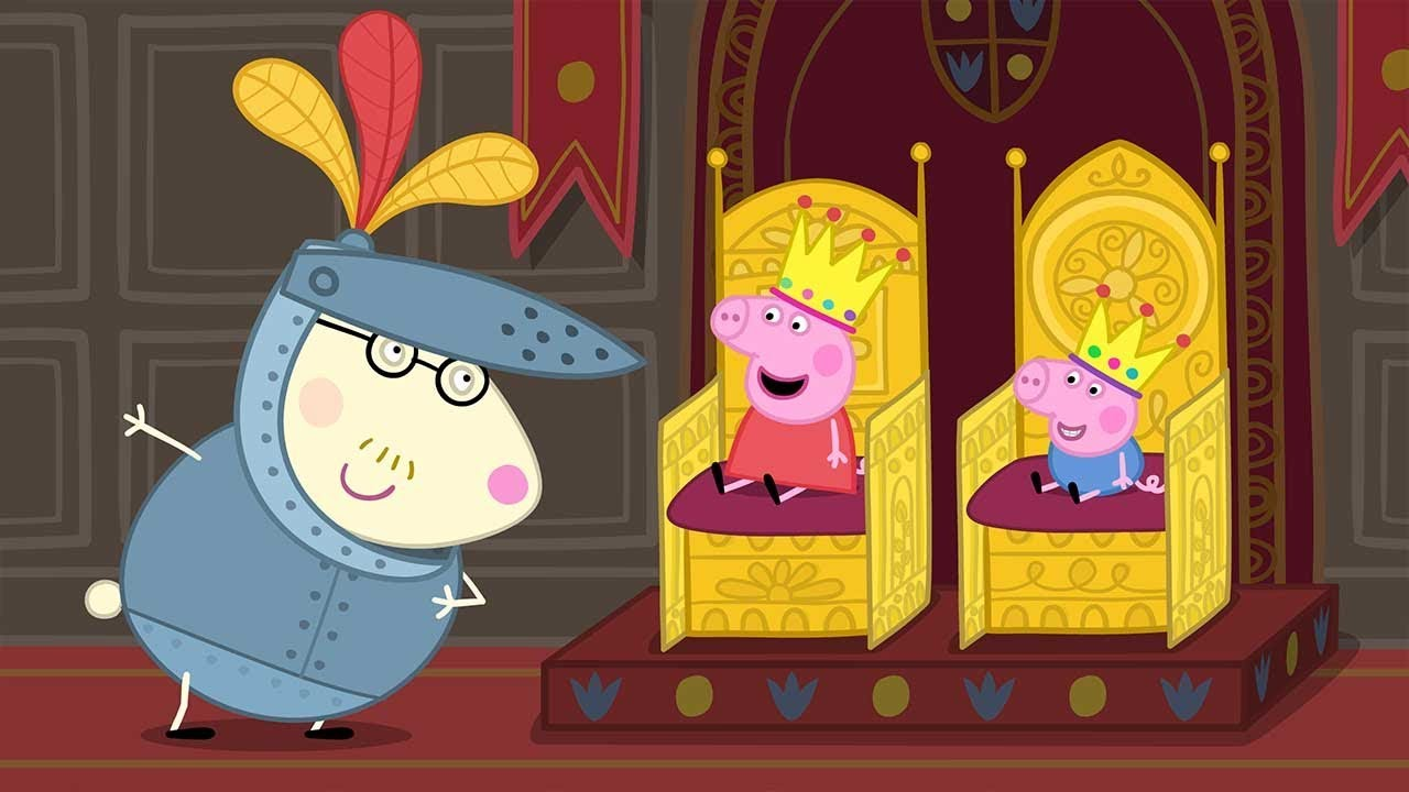 Peppa Pig English Episodes | Peppa visits the Castle | Cartoons for Children